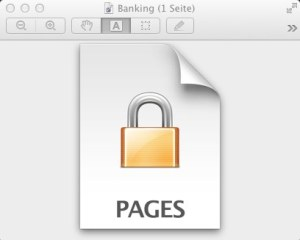 Vorschau - schreibgeschütztes Pages-Dokument